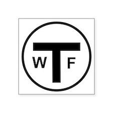"""tshirt logo Square Sticker 3"""" x 3"""""""