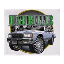 Donk_Caprice_Silver Throw Blanket
