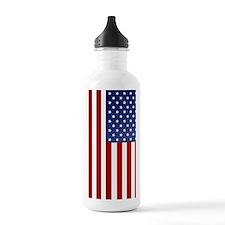 5x8_journal_american_f Water Bottle