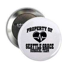 Seattle Grace Button