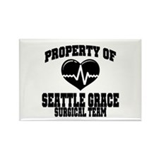 Seattle Grace Rectangle Magnet