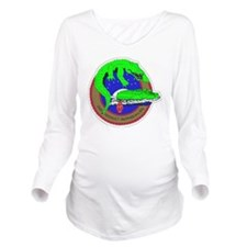 SSI- 2ND ASSAULT AMP Long Sleeve Maternity T-Shirt
