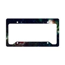 heartSoulNebula License Plate Holder