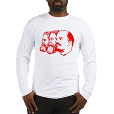 Marx, Engels & Lenin Long Sleeve T-Shirt