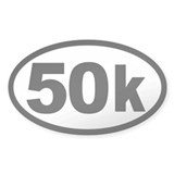 Ultra 50k Oval Stickers