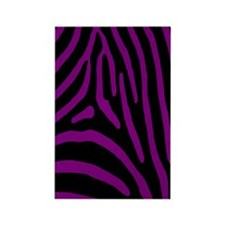 zebra 5 Rectangle Magnet