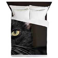 Cat eye Queen Duvet