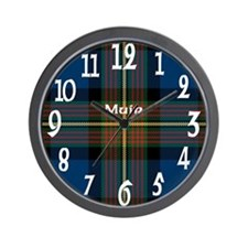 Muir Clan Wall Clock