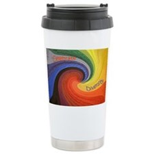Diversity square Ceramic Travel Mug