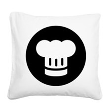 Chef Square Canvas Pillow