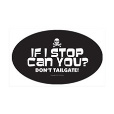 Anti-Tailgating Sticker Wall Decal