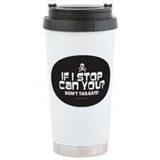 Anti-Tailgating Sticker Ceramic Travel Mug
