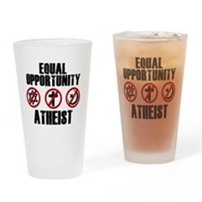 eqatheist Drinking Glass