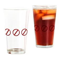 eqatheistdark Drinking Glass