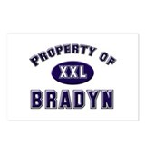Property of bradyn Postcards (Package of 8)