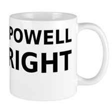 Enoch Powell Was Right (black) Small Mug