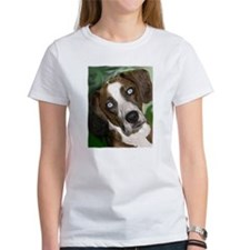 Unique Catahoula leopard dog art Tee