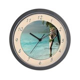 Makaha Wall Clock