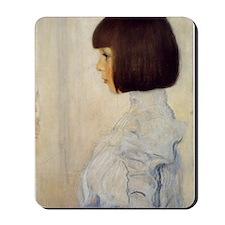 Gustav_Klimt_Portrait_of_Helene_Klimt_(h Mousepad