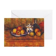 cezanne still life Greeting Card