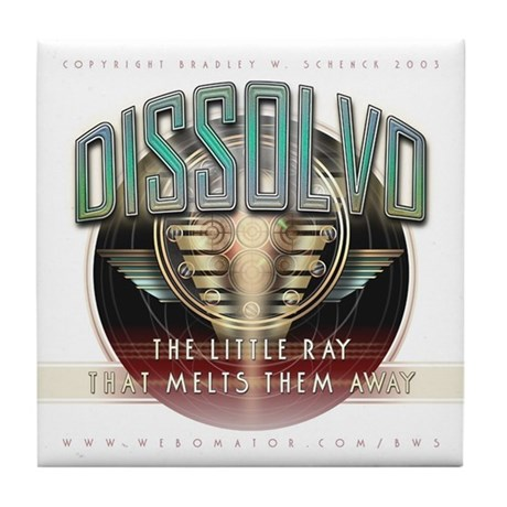 """Dissolvo Ray"" Tile Coaster"