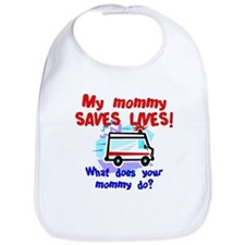Mommy Saves Lives Ambulance Bib