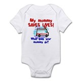 Mommy Saves Lives Ambulance Onesie