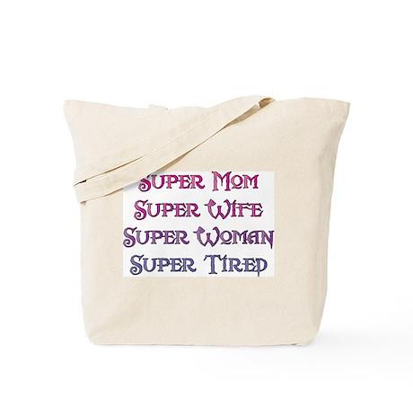 Super Tired Tote Bag