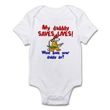 Fireman Daddy Infant Bodysuit