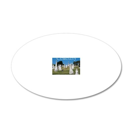 CAL2_COVER_Cemetery_040 20x12 Oval Wall Decal