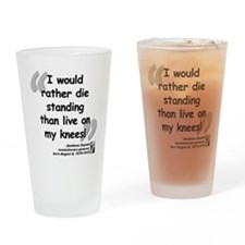 Zapata Standing Quote Drinking Glass