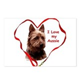 Australian Terrier Postcards (Package of 8)