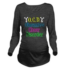 obsessivecheerdisord Long Sleeve Maternity T-Shirt