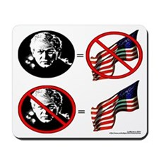 Bush or the Flag Mousepad