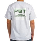 Medical Cannabis (double-sided) Ash Grey T-Shirt