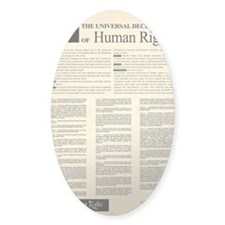 ISHR Human Rights Poster Decal