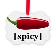 Spicy Ornament