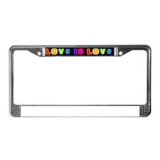 loveislovemag License Plate Frame