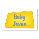 Baby Javon Rectangle Decal