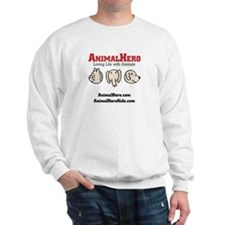 Animalhero Sweatshirt Red Logo