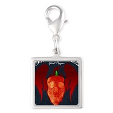 Ghost-mousepad Silver Square Charm