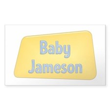 Baby Jameson Rectangle Decal