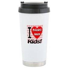 I Love My Wonderful Awesome Kids Ceramic Travel Mu