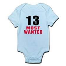 13 most wanted Onesie