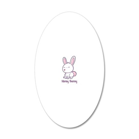 CA_149_v02_honeybunny 20x12 Oval Wall Decal