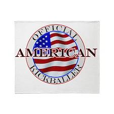 americankickballer Throw Blanket