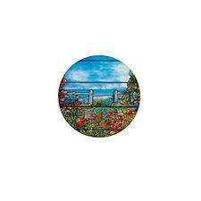 Tiffany Seascape Mini Button