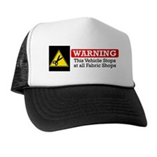 fabric warning magnet Hat
