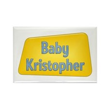 Baby Kristopher Rectangle Magnet (100 pack)
