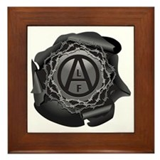 alf-black-01 Framed Tile